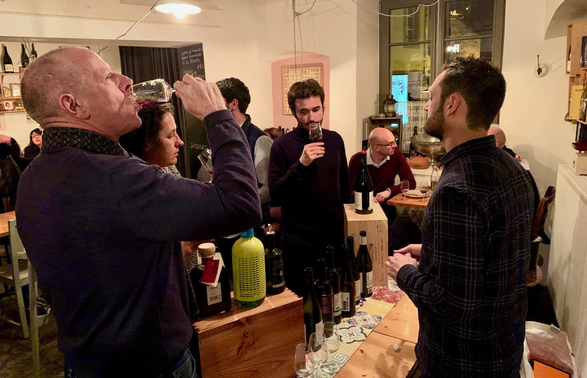 Wine tasting vi(e) Luxembourg