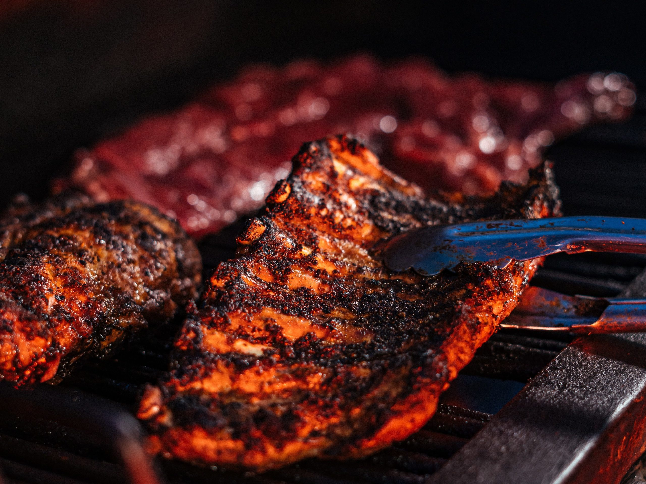 accord met vin porc grill barbecue