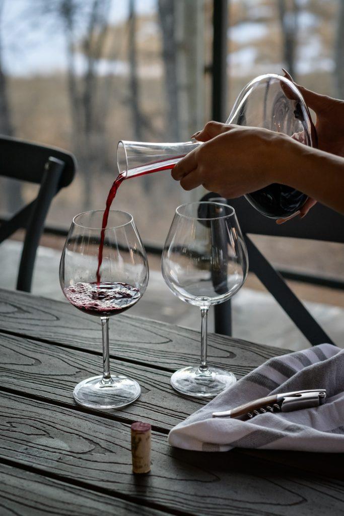 wine carafe Luxembourg vins espagnols